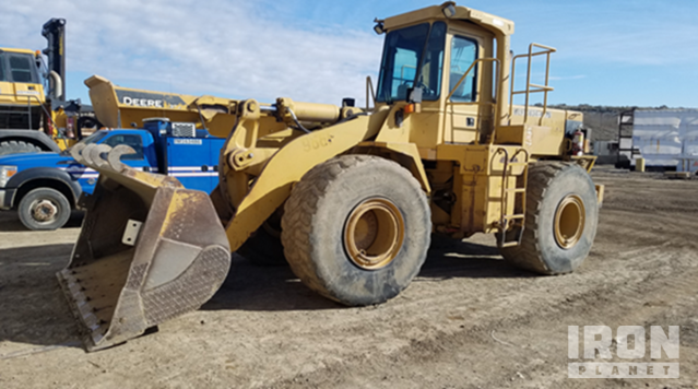 Cat 966F Wheel Loader, Wheel Loader