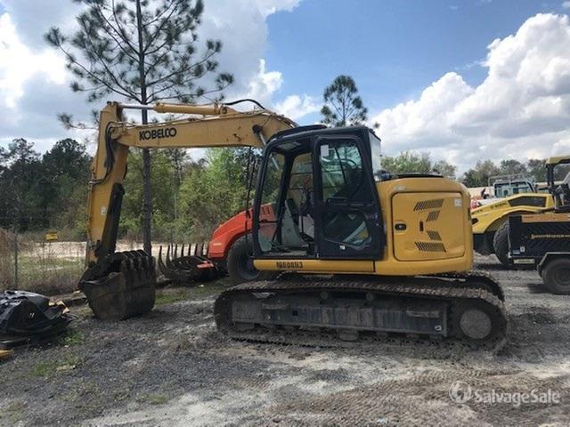 2018 (unverified) Kobelco SK140SR-5 Track Excavator, Hydraulic Excavator