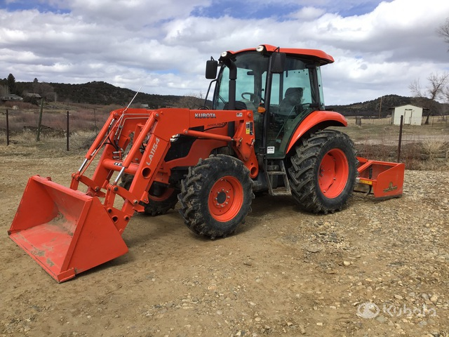 2019 (unverified) Kubota M6060D 4WD Tractor, MFWD Tractor