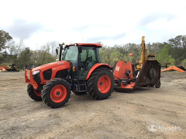 2018 (unverified) Kubota M5-111D 4WD Tractor, MFWD Tractor
