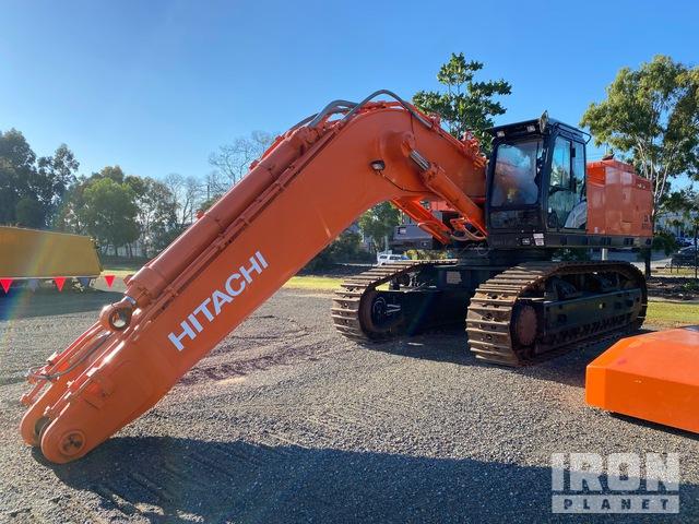 2018 Hitachi ZX870 LCH Track Excavator, Hydraulic Excavator