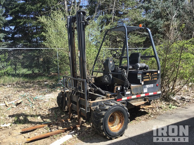 2008 Princeton PB50 5500 lb Truck Mounted Forklift, Rough Terrain Forklift