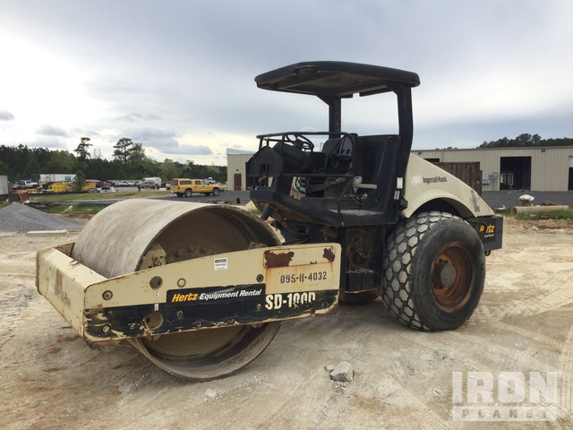 2004 Ingersoll-Rand SD-100D TF Vibratory Single Drum Compactor, Vibratory Padfoot Compactor