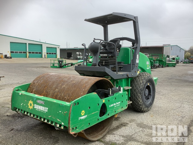 2013 Hamm 3307 Vibratory Single Drum Compactor, Vibratory Padfoot Compactor