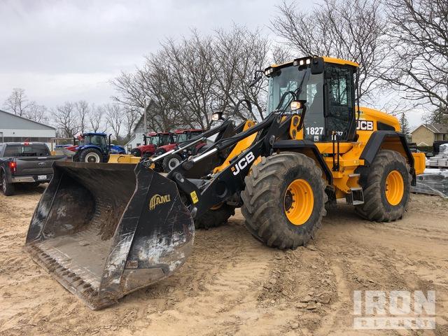2018 JCB 427 AG T4F Wheel Loader, Wheel Loader
