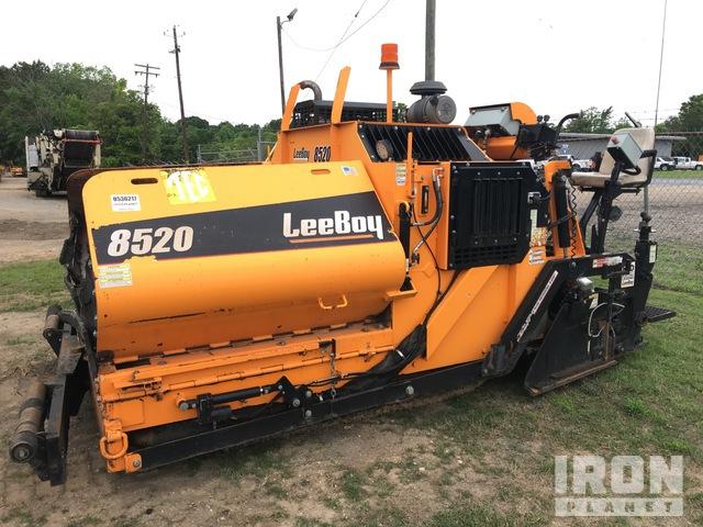 LeeBoy 8520 Track Asphalt Paver, Asphalt Paver