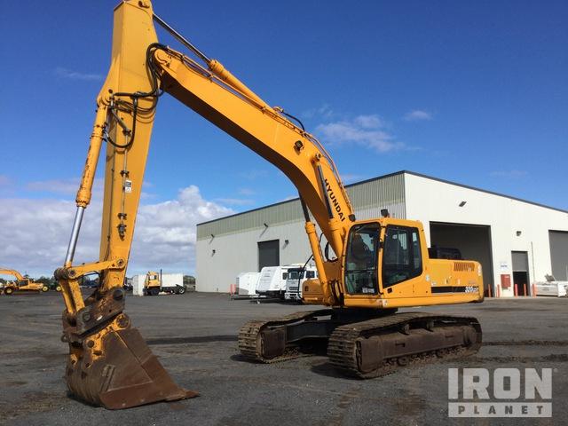 Hyundai Robex 320LC-7 Track Excavator, Hydraulic Excavator