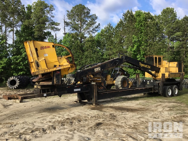 2013 (unverified) Tiger Cat 234 Trailer Mounted Knuckle Boom Log Loader, Log Loader
