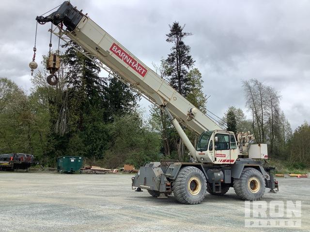 2003 Terex RT555 55 ton 4x4x4 Rough Terrain Crane, Rough Terrain Crane