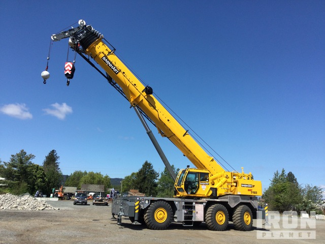 2020 Grove GRT9165 165 ton Rough Terrain Crane, Rough Terrain Crane