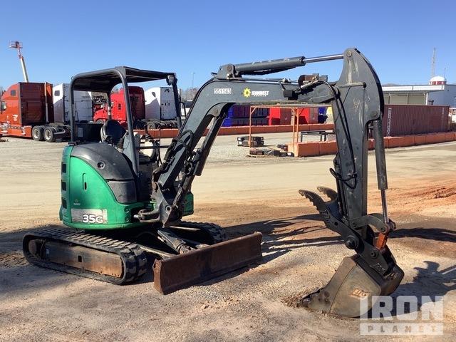 2013 John Deere 35G Mini Excavator, Mini Excavator (1 - 4.9 Tons)