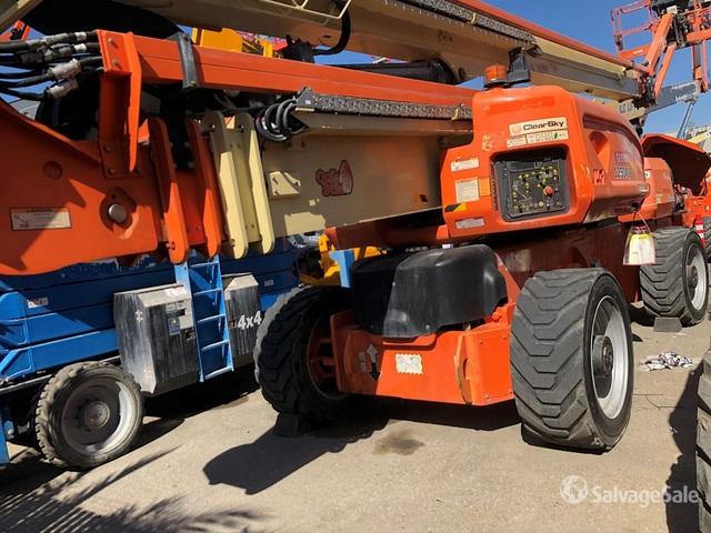 2010 JLG 1250AJP 4WD Diesel Telescopic Boom Lift, Boom Lift