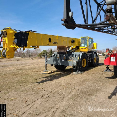 1999 Grove RT870 Rough Terrain Crane, Rough Terrain Crane