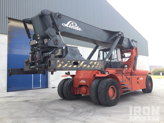 2002 Linde C4230/TL Container Reach Stacker, Container Reach Stacker