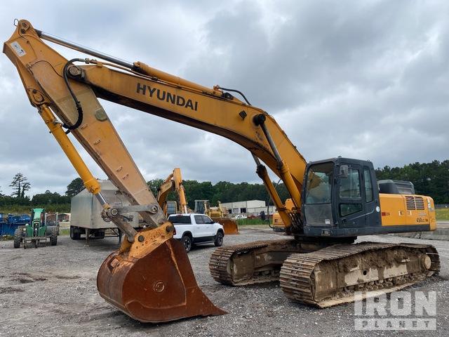 2010 Hyundai Robex 450LC-7A Track Excavator, Hydraulic Excavator