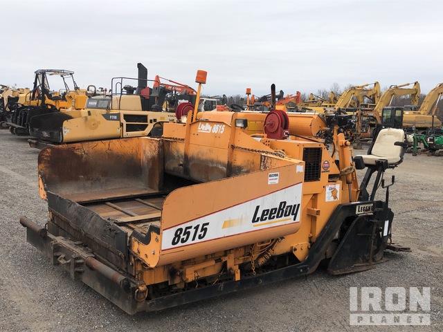 2004 LeeBoy L8515T Track Asphalt Paver, Asphalt Paver