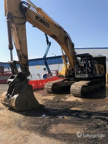 2015 Kobelco SK350LC-9E Track Excavator, Hydraulic Excavator
