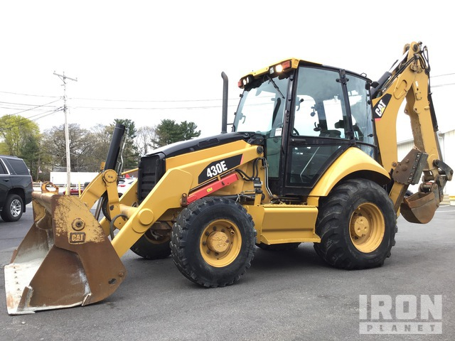 2010 Cat 430E 4x4 Backhoe Loader, Loader Backhoe