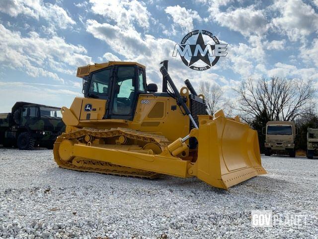 2009 John Deere 850JR WT Dozer W/Winch Low Hours!!, Crawler Tractor