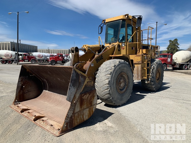 Cat 966E Wheel Loader, Wheel Loader