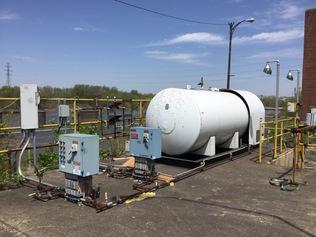 Tanques de combustible y productos