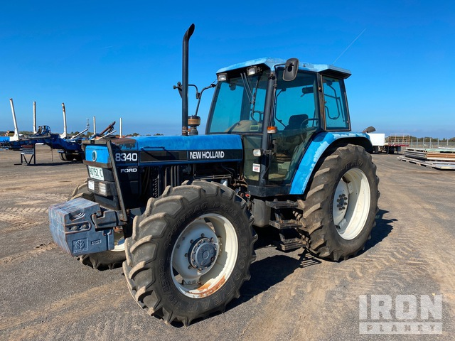 Ford New Holland 8340 4WD Tractor, MFWD Tractor