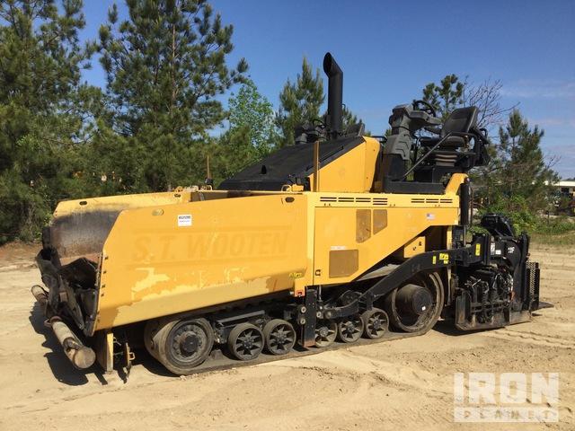 2015 Cat AP1055F Track Asphalt Paver, Asphalt Paver