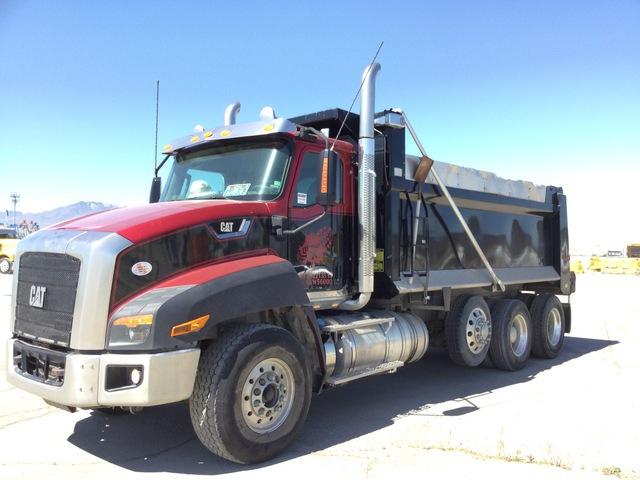 2014 Intl/Cat CT660S 6x4 Tri/A Dump Truck, Dump Truck (Tri/A)