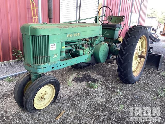 1953 John Deere 50 Antique Tractor, Antique Tractor