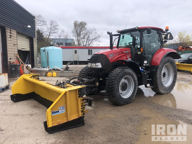 2016 Case IH Maxxum 125 4WD Tractor, MFWD Tractor