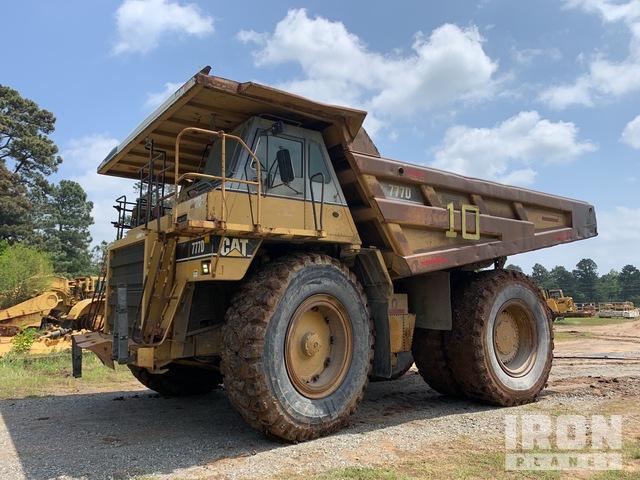 1997 (unverified) Cat 777D Off-Road End Dump Truck, Rock Truck