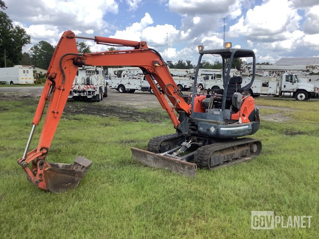 Kubota KX121-3 Mini Excavator, Mini Excavator (1 - 4.9 Tons)