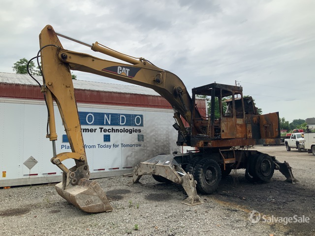 1993 Cat 214BFT Wheel Excavator, Parts/Stationary Construction-Other