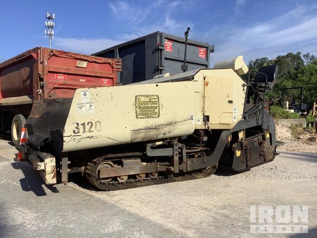 2006 Ingersoll-Rand 3120 Track Asphalt Paver, Asphalt Paver