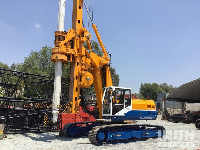 2008 Bauer BG20H Foundation Drill, Drilling Equipment - Other