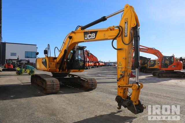 2012 JCB JS260LC Track Excavator, Hydraulic Excavator