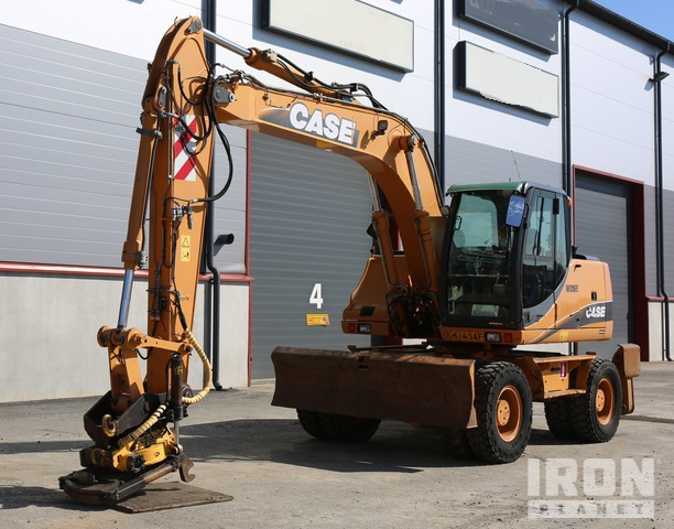 2007 Case WX165 Wheel Excavator, Mobile Excavator