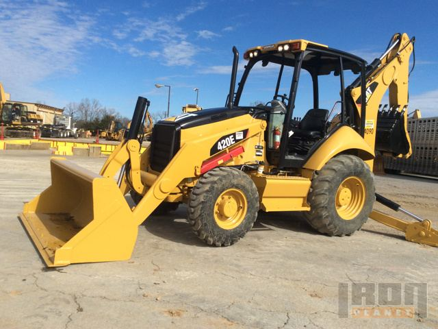 2012 Cat 420E 4WD Backhoe Loader in LaVergne, Tennessee