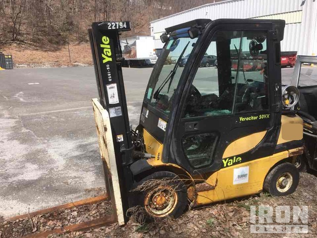 Yale GLP050VX Pneumatic Tire Forklift, Parts/Stationary Construction-Other
