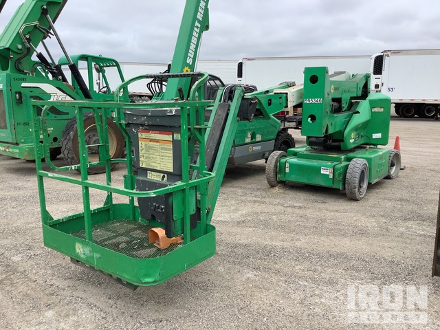 2014 JLG E400AJPN Electric Articulating Boom Lift, Parts/Stationary Construction-Other