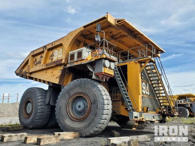 2007 Liebherr T282B Off-Road End Dump Truck, Rock Truck