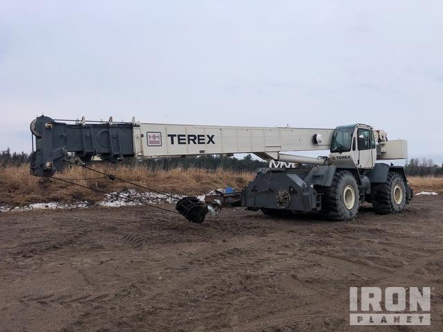 2010 Terex RT780 160000 lb 4x4 Rough Terrain Crane, Rough Terrain Crane