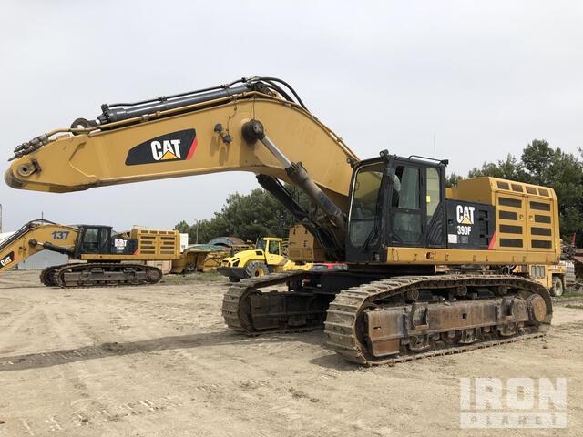 2015 Cat 390FL ME Track Excavator, Hydraulic Excavator