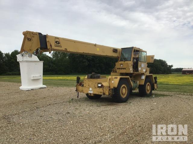 1980 Grove RT518 36000 lb 4x4 Rough Terrain Crane, Parts/Stationary Construction-Other