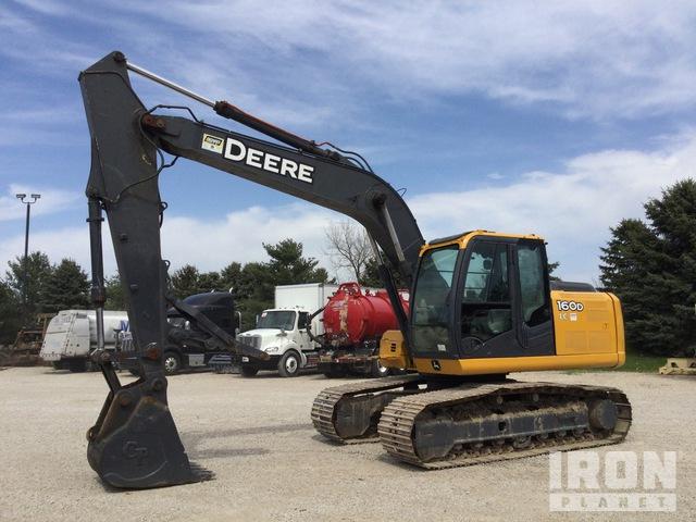 2011 (unverified) John Deere 160D LC Track Excavator, Hydraulic Excavator