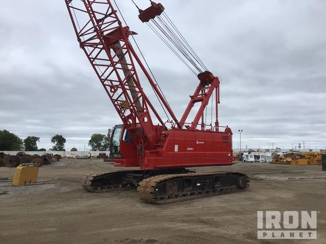 Manitowoc 11000-1 110 ton Lattice-Boom Crawler Crane, Crawler Crane
