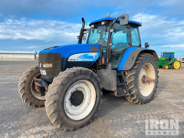 2007 New Holland TM190 4WD Tractor, MFWD Tractor