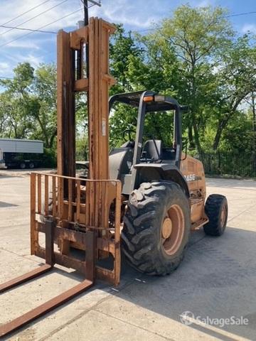 2010 (unverified) Case 586G Rough Terrain Forklift, Rough Terrain Forklift