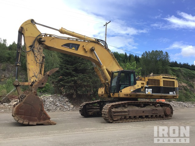 2005 Cat 385C Track Excavator, Hydraulic Excavator