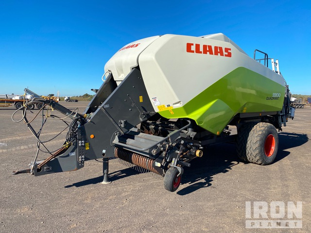 2014 Claas 3300 Quadrant Big Square Baler, Baler